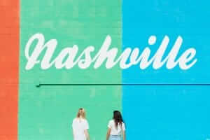 Mural of local mural in Nashville. No Sweat Web helps drive business for Local Nashville companies through Local SEO Strategy in Nashville