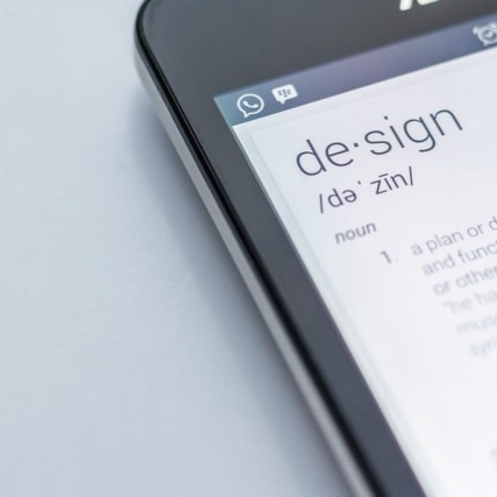 design definition on cell phone
